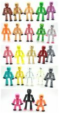 Random 5pcs Zing Stikbot ROBOT ANIMATION Figures Kid toy Different COLOR DI00