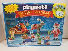 Retired Playmobil 5494 Advent Calendar, Santa, Christmas, Reindeer, NEW, SEALED
