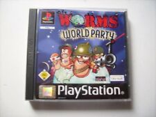 Worms World Party PS1 Playstation 1