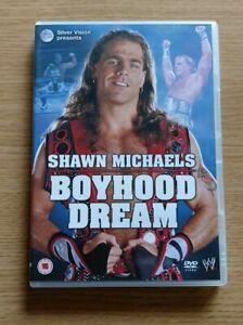 Wwe Wrestling Shawn Michaels BOYHOOD DREAM DVD Certificate 15