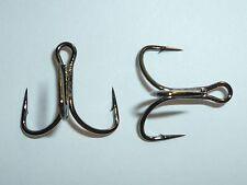 RARE Bulk Pack of 25 Mustad 7790X Open Shank Treble Hooks Size 6
