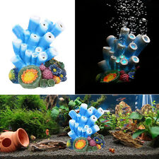 Coral Air Bubble Stone Oxygen Pump Aquarium Fish Tank Landscaping Ornament Decor