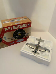 Armour Collection 1:48 Die-Cast P-51 Mustang ART. 98035 USAAF II WW Aces