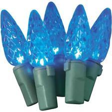 Blue 70-Bulb C6 23 Foot Led Christmas Tree Light Set 2372-04