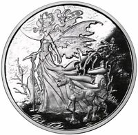 Amy Brown Collection 1oz Red Queen .999 Fine Silver Proof Round COA