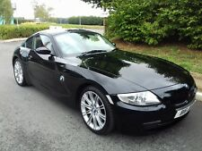 BMW Z4 3.0 si AUTO COUPE BLACK 87000 miles RED LEATHER FULL HISTORY LOVELY CAR