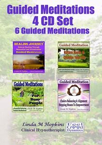 Guided Meditation CDs 4 CD Box Set 6 Guided Meditations For Relaxation CD