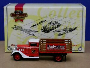 Matchbox Collectibles YYM35253 1933 Diamond T Stake Truck Budweiser MIB  NO COA