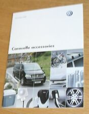 Volkswagen VW Caravelle Accessories Brochure 2007-2008