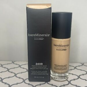 Bareminerals BarePro Performance Wear Liquid Foundation Butterscotch Exp 02/21