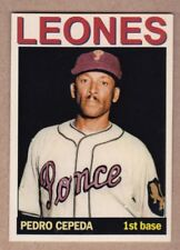 "Pedro ""Perucho"" Cepeda '50 Ponce Leones Puerto Rican League MC Private Stock #31"