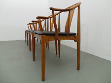 4 X Stuhl China Chair Modell 4283 Hans J. Wegner Fritz Hansen 1986  Kirschholz