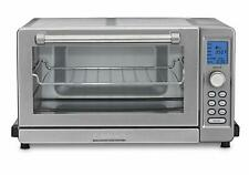 CUISINART STAINLESS STEEL DELUXE CONVECTION TOASTER OVEN BROILER TOB-135 bake pc