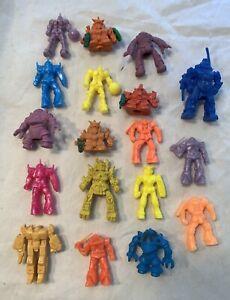 RARE Vintage Soma KO GUNDAM VOLTRON Robot lot Mini FIGURE Toy Lot PVC gumball