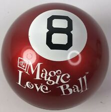 Magic 8 Ball Red Valentines Day Mystery 8 Ball Opened Classic Toy