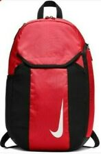 Nike Academy Team Sports Football Gym scholl college Backpack Red New with tag