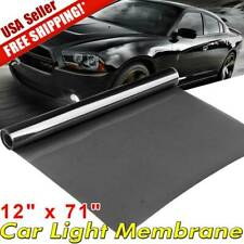 "12""x72"" Medium Black Vinyl Tint Film Car Truck Smoke Headlight Taillight Cover"