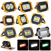 COB LED Arbeitsleuchte 20W USB Aufladbar Werkstattlampe Baustrahler Flutlicht