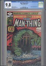 Man Thing V2 #1 CGC 9.8 1980 Marvel Comic Origin Retold: New Frame: