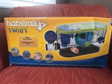 Habitrail OVO Suite and Twist hamster cage with extra tubes and cage Habitat NOb