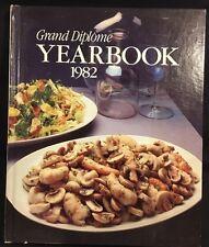 Grand Diplome Yearbook 1982 Cookbook Hardcover