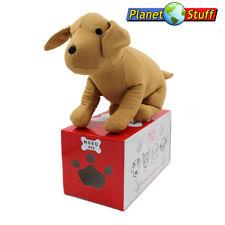 """MOGU Plush Pillow Toy Labrador Puppy Dog 13"""" in Beige"""