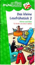 miniLÜK. Das kleine Lesefrühstück 2. Wörter und Sätze (Lernmaterialien) - Heinz