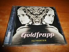 GOLDFRAPP Felt mountain CD ALBUM DEL AÑO 2000 EU CONTIENE 9 TEMAS