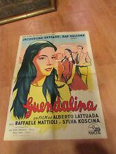 ancienne affiche cinema serie b guendalina
