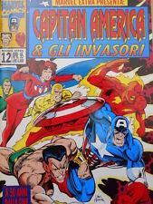 Marvel Extra n°12 1995 Capitan America & Gli Invasori ed. Marvel Italia [G.211]