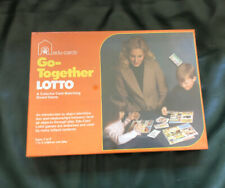 Vintage 1971 EDU-CARDS GO TOGETHER LOTTO GAME