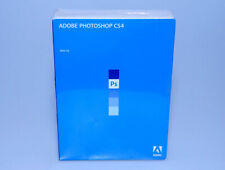 Adobe Photoshop CS4 Mac brand new sealed retail 65014293 OS X genuine
