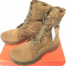 "Under Armour UA FNP Tactical Military Boots 1287352-728 Coyote 8"" AR670 Size 13"