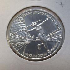 10 Euro Silbermünze IAAF Leichtathletik WM Berlin 2009 *2009*