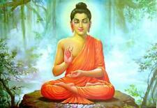 185898 Gautama Bouddha Siddhartha Indien Hindou réveillés Mural imprimé Poster U...