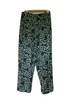 Center Aisle Vintage Floral Boho Pants Womens Size L