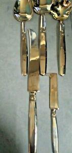 Luxury Bronze 9 pc Flatware Settings, Serving Utensils, & Replacement Pieces