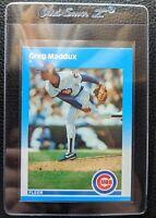 1987 FLEER UPDATE #U-68 GREG MADDUX ROOKIE CARD RC HOF CUBS BRAVES