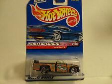 Hot Wheels #949 Black Mini Truck w/Razor Wheels