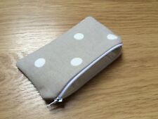Handmade Coin Purse Made With Cath Kidston Stone Spot Fabric