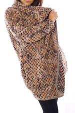 Cappotti e giacche da donna marrone in lana taglia 46