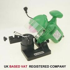 100097 Petrol Chainsaw Electric Bench Mounted Sharpener Grinder Garden Tool