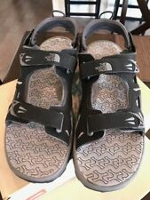 The North face mens Sandal Hedgehog Sandal Black/Zinc/Grey Size 12 NEW
