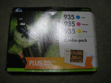 F6U03FN-GENUINE HP 935 C/M/Y Color Ink Cartridges w/Photo Paper,Recently Expired