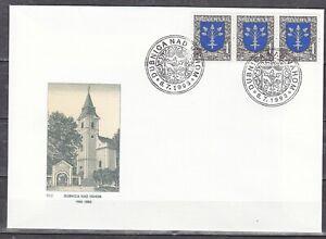 SLOVAKIA 1993 FDC SC # 169  Arms of Dubnica nad Vahom