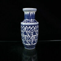 Chinese old porcelain Blue and white twig lotus vase