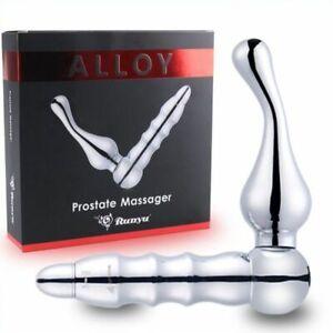 Alloy Metal Vibration Prostate Massager BDStyle