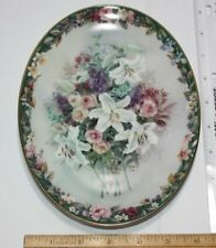 Bradford Exchange Lena Liu'S Everlasting Floral Cameos Limited Collector 00006000  Plate
