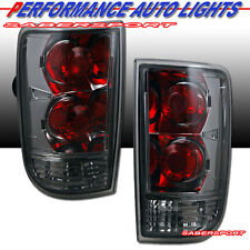 95-04 CHEVY BLAZER GMC JIMMY ALTEZZA STYLE TAIL LIGHTS CHROME SMOKE PAIR