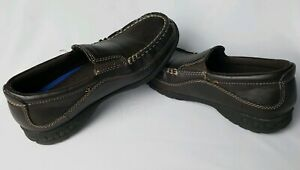 Stacy Adams Youth Kids Boys Shoes Porter Brown Loafers Size 3